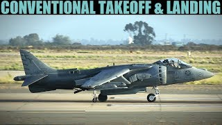 AV-8B Harrier: CTOL Conventional Takeoff & Landing Tutorial | DCS WORLD