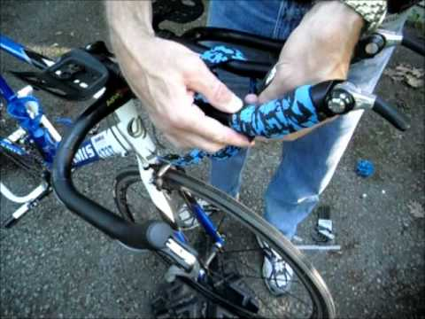 How To Wrap Aerobars With Handlebar Tape On A Tri Bike