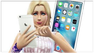 IPHONE 6 THE SIMS 4