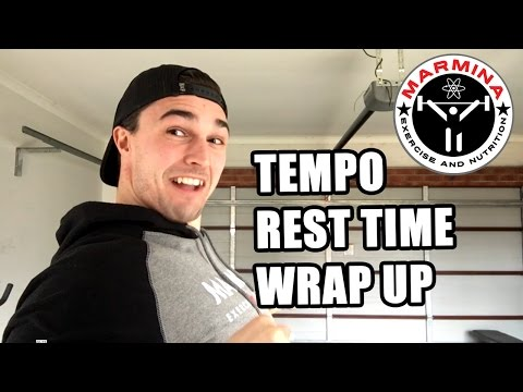 Effective Exercise Programming - Part 7 Rest, Tempo and Conclusions