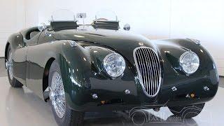 Jaguar XK120 Roadster 1951 Le Mans - VIDEO - www.ERclassics.com