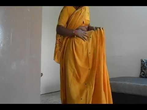 How To Wear Maharastrian Style Saree-Maharastrian Sari Draping