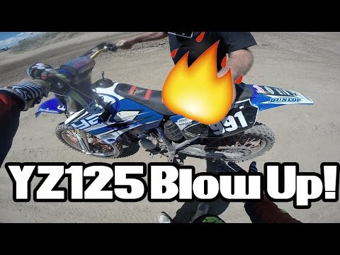 2003 YZ 125 Blowing Up!