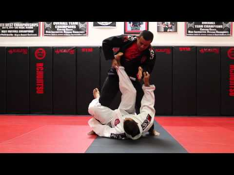 Jiu Jitsu Techniques - De La Riva Pass to Mount and Triangle Image 1