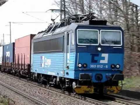 Vlaky Polom: průjezdy. 22.4.2012