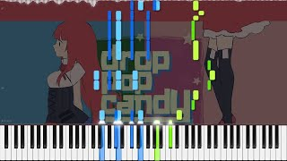 Giga-P // Drop Pop Candy | LyricWulf Piano Tutorial on Synthesia