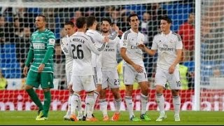 Real Madrid 5-0 Cornella Goles Audio Cope 02/12/14 Copa Del Rey