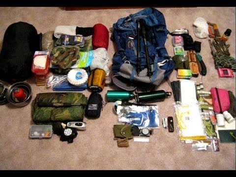 Inside my bug out backpack for long term survival