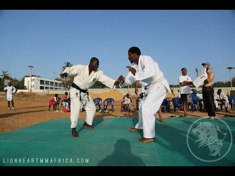 Lion Heart MMA Initiative - Africa on Senegal TV show (french)