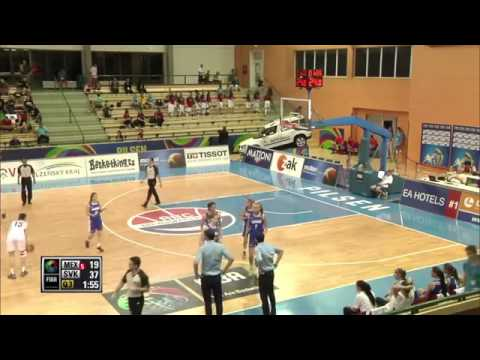 Mexico vs Slovak Republic FIBA U17 2014 World Championship for women