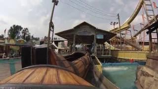 Wildwasser 3 - Löwenthal (Onride) Video Rheinkirmes Düsseldorf 2016