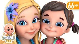 Nanhi munni Gudiya Rani - नन्ही मुन्नी गुड़िया रानी - Hindi Rhymes for Children   Jugnu Kids