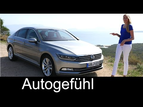 2015 Volkswagen Passat B8 & VW Passat Wagon/Estate/Variant REVIEW test drive all-new Magotan