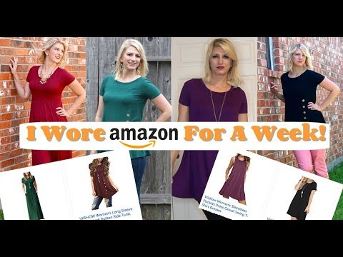 I Wore Amazon For a Week! | Look Book and Review