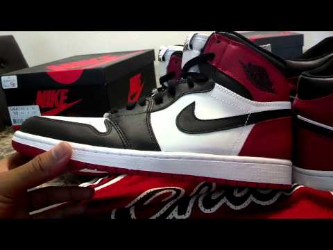 Nike Air Jordan 1 Retro High OG Black Toe