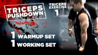 Dorian Yates: Blood & Guts Trainer - Delts & Triceps - Episode 4 / 5