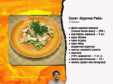 Диетические блюда для сердечников рецепты
