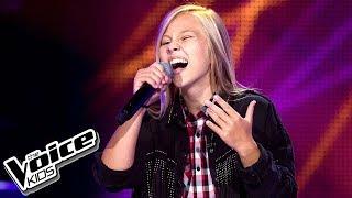 """Maria Nowak - """"Billionaire"""" - Przesłuchania w ciemno - The Voice Kids 2 Poland"""