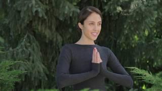Йога. Комплекс упражнений для начинающих от Яны Стрельцовой.