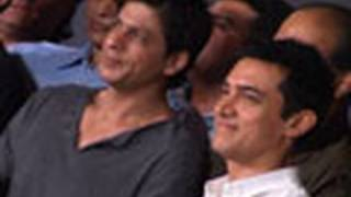 Aamir and Shahrukh come face to face