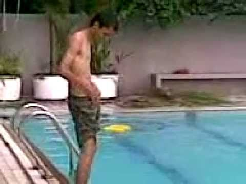 Naked in swimming pool.3gp