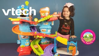 VTech Go! Gaan! Smart Wheels Launch and Chase Police Tower | Super Family Fun