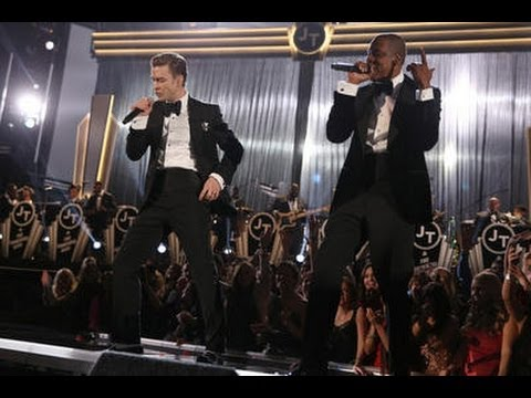OLD SCHOOL! Justin Timberlake Grammy Performance 2013 with JAY Z 'SUIT AND TIE' LIVE