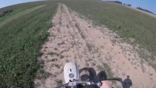 Další Jízda na pionýrovi !!!! / Pionýr ride on a field