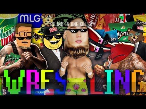 EPIC MLG MEMER-THEMED WRESTLING | /r/Montageparodies Wrestling 420 Montageparody.gif