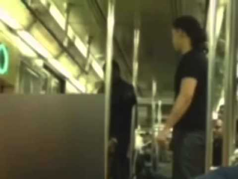 Man Caught On Cell Phone Video Punching Subway Rider - New York