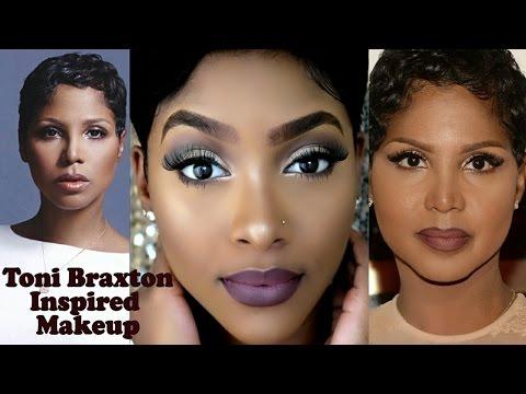 Toni Braxton Inspired Makeup   90's THROWBACK
