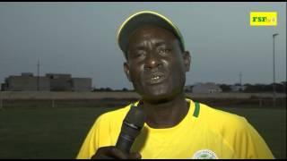 Préparation du match retour Gambie vs Sénégal