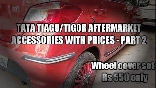 Tata Tiago/Tigor accessories, Part -2