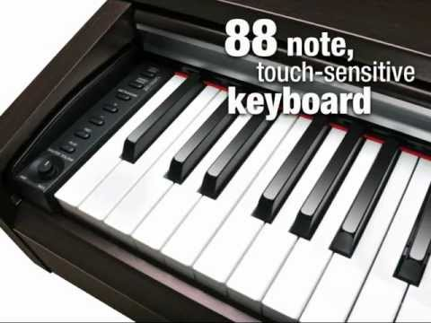 Yamaha ydp 135 r arius e piano rosenholz set piano kopfhoerer bank