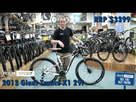 2013 Giant Trance X 29er 1 Mountain Bike Review