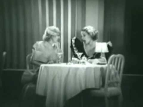 Isabel Jewell Sally Blane Catfight 1934 Drama