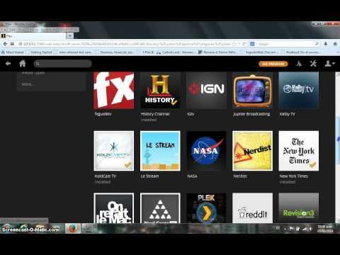 Como añadir canales a Plex en el ROKU América Latina
