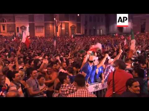 Balotelli double delights fans in Rome, misery in Berlin
