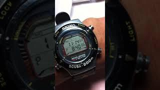 Seiko Scuba S800 ALARM DEMO