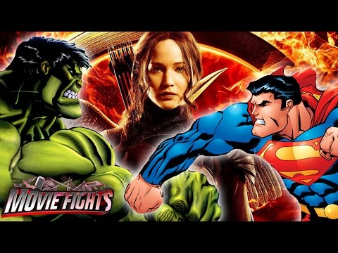 Which Superhero Wins The Hunger Games? - Movie Fights! video