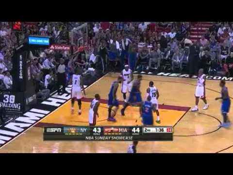 New York Knicks vs. Miami Heat   Highlights   4-6-14