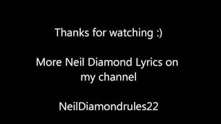Watch Neil Diamond A Matter Of Love video