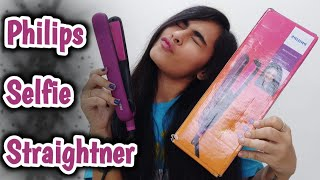 Philips Selfie Straightener REVIEW | Twinkle Thakker
