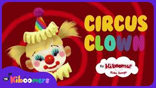 Circus Clown Song for Kids | Clowns | Songs | Preschool Songs | The Kiboomers | face paint