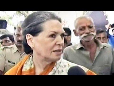Sonia Gandhi attacks Narendra Modi's '100-day government' on price rise