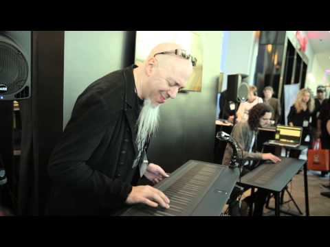 Jordan Rudess performs a blistering sax solo on the Seaboard GRAND at ...