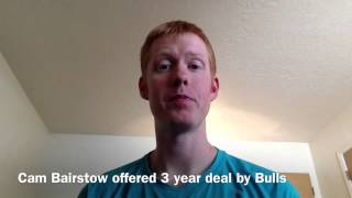 Chicago Bulls Offer Contract to Cameron Bairstow