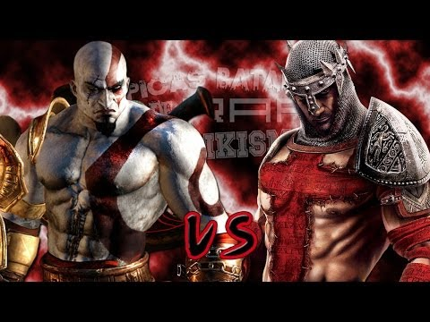 Kratos vs Dante. Épicas Batallas de Rap del Frikismo | Keyb