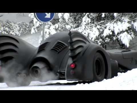 A Completely Pointless Clip Featuring Badass Batmobile Winter Action.mov
