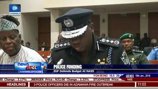 IGP Ibrahim Idris Defends Budget At NASS
